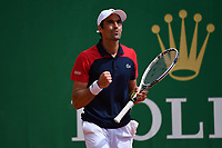 13th April 2021; Roquebrune-Cap-Martin, France;  Jeremy Chardy Fra during the  Rolex Monte Carlo Masters