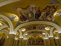 orthodoxer Dom des heiligen Sava, Sv. Save, Belgrad, Serbien, Europa<br /> inside Orthodox Cathedral St. Sava, Belgrade, Serbia, Europe