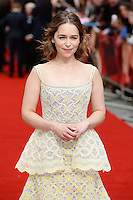 Emilia Clarke<br /> arrives for the UK premiere of<br /> 'Me Before You'<br /> Curzon Mayfair, London