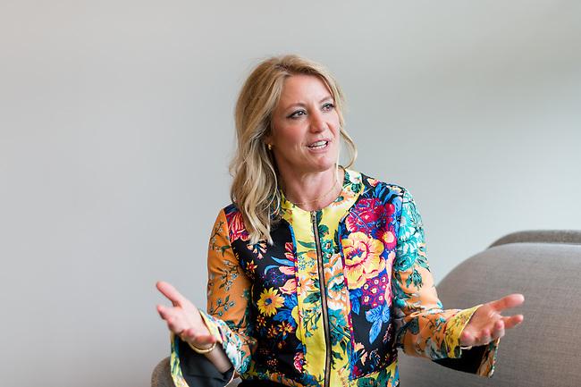 Portrait of Katie Armstrong in London, Tuesday, 25th of June 2020. Photo: AMMP/Maciek Musialek