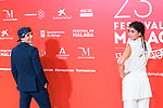 Miguel Herran and Carolina Yuste during photocall pf Malaga Film Festival 2020. August 22 2020. (Alterphotos/Francis González)