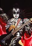 Kiss 1979 Gene Simmons.© Chris Walter.
