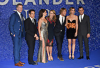 """Will Ferrell, Ben Stiller, Penelope Cruz, Christine Taylor, Owen Wilson, Kristen Wiig and Justin Theroux<br /> at the fashionable screening of """"Zoolander No.2"""", Empire Leicester Square, London.<br /> <br /> <br /> ©Ash Knotek  D3079 04/02/2016"""