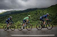Green Jersey / points leader Mark Cavendish (GBR/Deceuninck - Quick Step) up the Col de Port<br /> <br /> Stage 16 from El Pas de la Casa to Saint-Gaudens (169km)<br /> 108th Tour de France 2021 (2.UWT)<br /> <br /> ©kramon