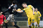 Dundee v St Johnstone…10.03.18…  Dens Park    SPFL<br />Liam Craig and Jesse Curran<br />Picture by Graeme Hart. <br />Copyright Perthshire Picture Agency<br />Tel: 01738 623350  Mobile: 07990 594431