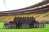 141010 ITM Cup Rugby - Wellington Lions Team Photo