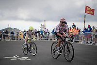 polka dot jersey / KOM leader Nairo Quintana (COL/Arkéa Samsic) up the Mont Ventoux<br /> <br /> Stage 11 from Sorgues to Malaucène (199km) running twice over the infamous Mont Ventoux<br /> 108th Tour de France 2021 (2.UWT)<br /> <br /> ©kramon