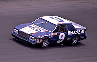 Bill Elliott, #9 Ford Thunderbird at the Daytona 500, Daytona International Speedway, Daytona Beach, FL, February 15, 1981.  (Photo by Brian Cleary/www.bcpix.com)