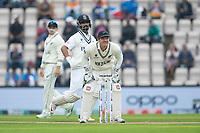 BJ Watling of New Zealand gets ready for the throw from the outfield during India vs New Zealand, ICC World Test Championship Final Cricket at The Hampshire Bowl on 20th June 2021