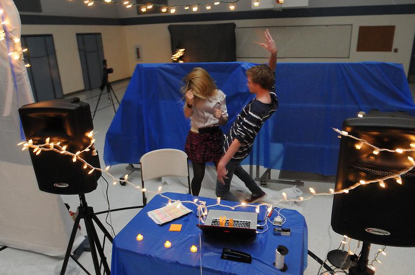 2011 Winter Semi-Formal Dance, Charter Smith Flat, El Dorado, CA, Friday, December 2, 2011. (photo by Pico van Houtryve)