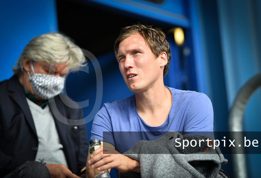 Genk coach Hannes Wolf pictured during a friendly soccer game between the national teams Under19 Youth teams of Belgium and Germany on tuesday 8 th of September 2020  in Genk , Belgium . PHOTO SPORTPIX.BE | SPP | DAVID CATRY