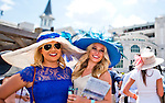 MAY 2, 2015: Scenes from around the track as hats, horses and high fashion were everywhere at Churchill Downs in Louisville, Kentucky. Scott Serio/ESW/CSM