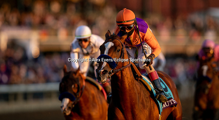 November 7, 2020 : on Breeders' Cup Championship Saturday at Keeneland Race Course in Lexington, Kentucky on November 7, 2020. Alex Evers/Eclipse Sportswire/Breeders' Cup/CSM