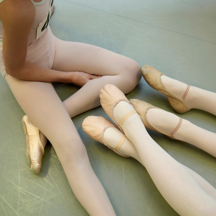 Auditions for English National Ballet at their headquarters in Chelsea London..