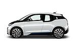 Car Driver side profile view of a 2017 BMW i3 Range-Extender 5 Door Hatchback Side View