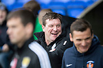 St Johnstone v Kilmarnock…15.10.16.. McDiarmid Park   SPFL<br />Saints boss Tommy Wright<br />Picture by Graeme Hart.<br />Copyright Perthshire Picture Agency<br />Tel: 01738 623350  Mobile: 07990 594431