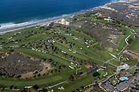 aerial photograph Torrey Pines Golf Course, La Jolla, California