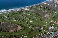 aerial photograph Torrey Pines Golf Course, La Jolla, California