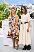 CANNES, FRANCE. July 9, 2021: Abigail Breslin & Camille Cottin at the Stillwater photocall at the 74th Festival de Cannes.<br /> Picture: Paul Smith / Featureflash