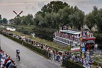 Hugo Houle (CAN/Astana-Premier Tech)<br /> <br /> 88th UCI Road World Championships 2021 – ITT (WC)<br /> Men's Elite Time trial from Knokke-Heist to Brugge (43.3km)<br /> <br /> ©Kramon