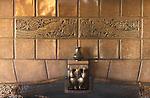 Fireplace Detail Seattle Washington