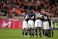 The USA men fell to the Netherlands 2-1 at Amsterdam ArenA, Wednesday, March 3, 2010.