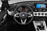Car pictures of steering wheel view of a 2016 BMW Z4 sDrive28i 2 Door Convertible Steering Wheel