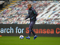3rd October 2020; Liberty Stadium, Swansea, Glamorgan, Wales; English Football League Championship, Swansea City versus Millwall; Jay Fulton of Swansea City during the warm up