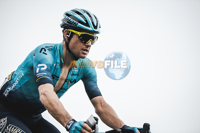Jakob Fuglsang (DEN) Astana-Premier Tech climbs Col du Tourmalet during Stage 18 of the 2021 Tour de France, running 129.7km from Pau to Luz Ardiden, France. 15th July 2021.  <br /> Picture: A.S.O./Charly Lopez | Cyclefile<br /> <br /> All photos usage must carry mandatory copyright credit (© Cyclefile | A.S.O./Charly Lopez)