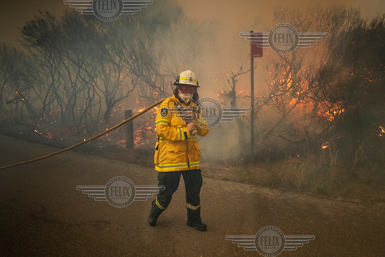 Fire service personnel tackle a serious fire that burnt much of Sydney's North Head. The fire spread after a NSW National Parks hazard reduction burn jumped containment lines and quickly got out of control forcing the evacuation of nearby residents and the destruction of 90 hectares of bushland. Increasingly, as science continues to inform us that climate change is having an enormous impact on the frequency and intensity of weather related events, the windows for optimal hazard reduction burn conditions are becoming smaller.