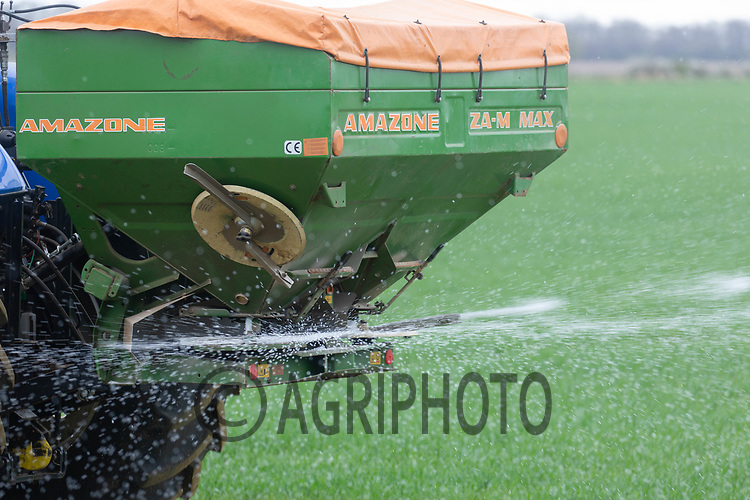 2-4-2021 Applying nitrogen to Winter cereals <br /> ©Tim Scrivener Photographer 07850 303986<br />      ....Covering Agriculture In The UK....