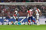 Atletico de Madrid's Thomas Lemar and Rayo Vallecano's during Alberto Garcia La Liga match. August 25, 2018. (ALTERPHOTOS/A. Perez Meca)