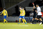 St Mirren v St Johnstone…..04.03.20   Simple Digital Arena   SPFL<br />Liam Craig is sent off by referee Euan Anderson<br />Picture by Graeme Hart.<br />Copyright Perthshire Picture Agency<br />Tel: 01738 623350  Mobile: 07990 594431