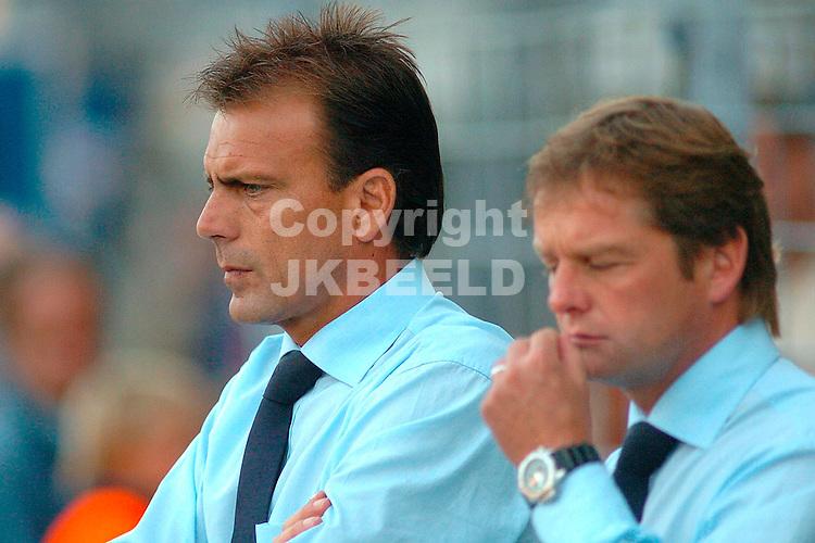 cambuur - telstar gouden gids divisie seizoen 2005-2006 22-08-2005 trainer luc nijholt telstar