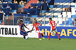 MF Eugenneson Lyngdoh (LYNGDOH) of JSW Bengaluru FC (India) taking the lead run  during match AFCCQF1 – AFC Cup 2016 Quarter Finals<br /> JSWBENGALURUFC(IND) – JSW Bengaluru FC (India)<br /> vs<br /> TAMPINESROVERS(SIN) – Tampines Rovers (Singapore)<br /> at Kanteerava Stadium, Bangalore, Karnataka on 14th Septembar 2016.<br /> Photo by Saikat Das/Lagardere Sports