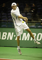 18-2-06, Netherlands, tennis, Rotterdam, ABNAMROWTT, Qualifying round, Gilles Simon