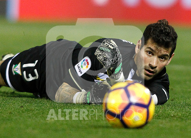 CD Leganes' Iago Herrerin during La Liga match. December 3,2016. (ALTERPHOTOS/Acero)