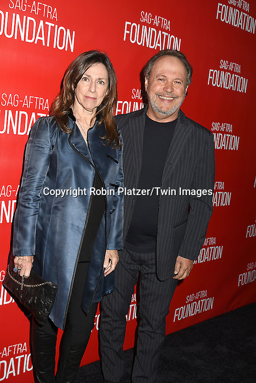 Janice Crystal and Billy Crystal attend the Grand Opening of SAG-AFTRA Foundation Robin Williams Center on October 5, 2016 at The Robin Williams Center in New York, New York, USA.<br /> <br /> photo by Robin Platzer/Twin Images<br />  <br /> phone number 212-935-0770