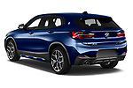Car pictures of rear three quarter view of 2020 BMW X2 M-Sport-X 5 Door SUV Angular Rear