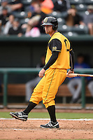 Jacksonville Suns  outfielder Brady Shoemaker (20) during a game against the Pensacola Blue Wahoos on April 20, 2014 at Bragan Field in Jacksonville, Florida.  Jacksonville defeated Pensacola 5-4.  (Mike Janes/Four Seam Images)