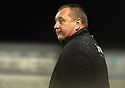 05/01/2008    Copyright Pic: James Stewart.File Name : sct_jspa15_falkirk_v_aberdeen.ABERDEEN MANAGER JIMMY CALDERWOOD WATCHES HIS SIDE AGAINST FALKIRK.James Stewart Photo Agency 19 Carronlea Drive, Falkirk. FK2 8DN      Vat Reg No. 607 6932 25.Office     : +44 (0)1324 570906     .Mobile   : +44 (0)7721 416997.Fax         : +44 (0)1324 570906.E-mail  :  jim@jspa.co.uk.If you require further information then contact Jim Stewart on any of the numbers above.........