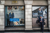 Hawes & Curtis, gentelmen's clothing store, Jermyn Street, St.James's, London.