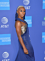 PALM SPRINGS03, 2020: Cynthia Erivo at the 2020 Palm Springs International Film Festival Film Awards Gala.<br /> Picture: Paul Smith/Featureflash