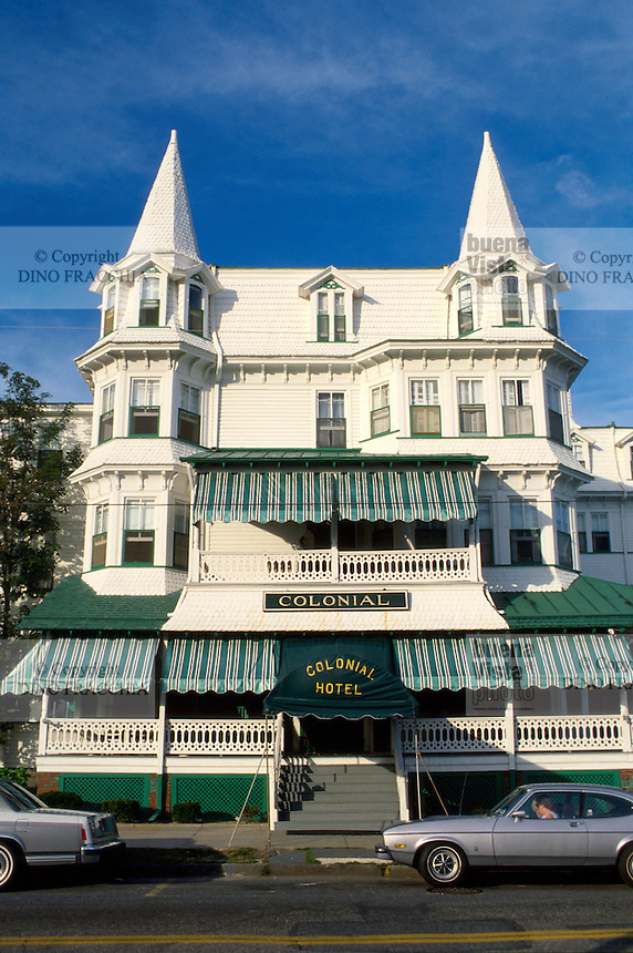 - New Jersey, historical house of the nineteenth century in Cape May....- New Jersey, casa storica del diciannovesimo secolo a Cape May