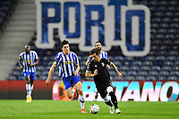 22nd April 2021; Dragao Stadium, Porto, Portugal; Portuguese Championship 2020/2021, FC Porto versus Vitoria de Guimaraes; Mateus Uribe of FC Porto beaten for pace by Rochinha of Vitoria de Guimaraes