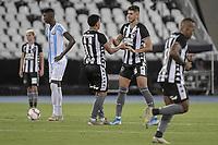 Rio de Janeiro (RJ), 26/01/2020 - Botafogo-Macae - Luis Henrique (e) e Pedro Raul, comemoram gol. Partida entre Botafogo e Macae, valida pela terceira rodada da Taca Guanabara, realizada no Estadio Nilton Santos (Engenhao), no Rio de Janeiro, neste domingo (26). (Foto: Andre Fabiano/Codigo 19/Codigo 19)