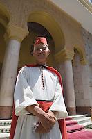 Afrique/Afrique du Nord/Maroc /Casablanca: Hotel Royal Mansour Méridien - le portier