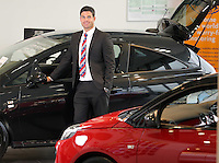 Matthew Hodge, General Sales Manager of Hutchings Vauxhall Pontypridd