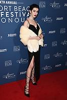 Chanel Joan Elkayam<br /> arriving for the Newport Beach Film Festival UK Honours 2020, London.<br /> <br /> ©Ash Knotek  D3551 29/01/2020
