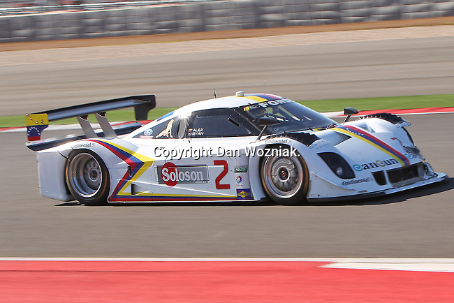 Alex Ryan (2) in action during the Grand Am of the Americas, Rolex race at the Circuit of the Americas race track in Austin,Texas...